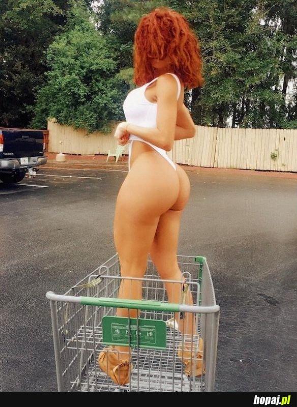Kochanie jestem gotowa na zakupy