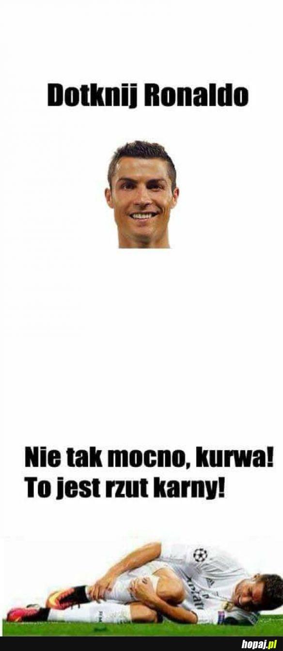 Dotknij Ronaldo