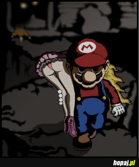 Mario zbiera owoce ciężkiej pracy