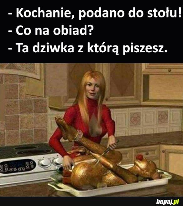 Kochanie obiad