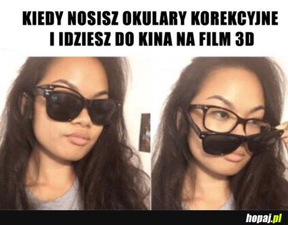 NIENAWIDZĘ FILMÓW 3D