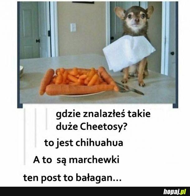 Dziwny post