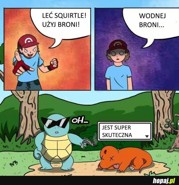 Leć Squirtle