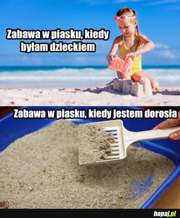 Zabawa w piasku