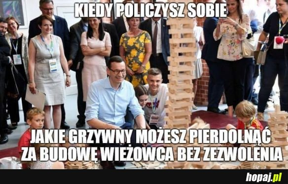 Zadowolony premier