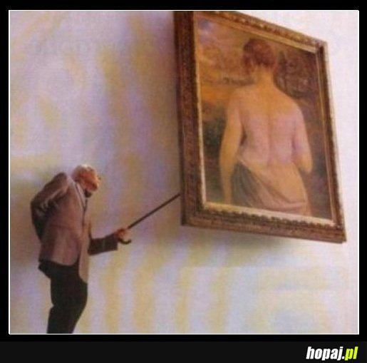 Dziadek podglądacz