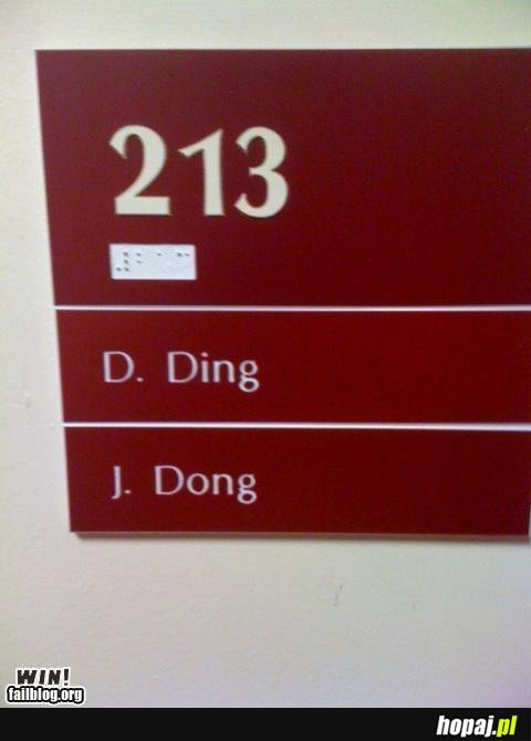 Ding Dong :)