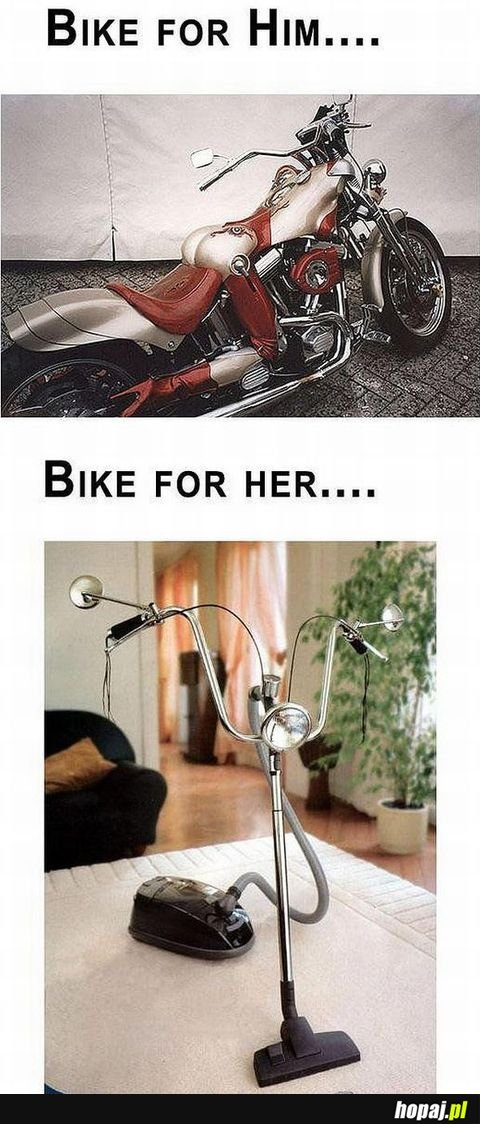 Bike for her... ;p