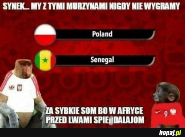Mecz z Senegalem