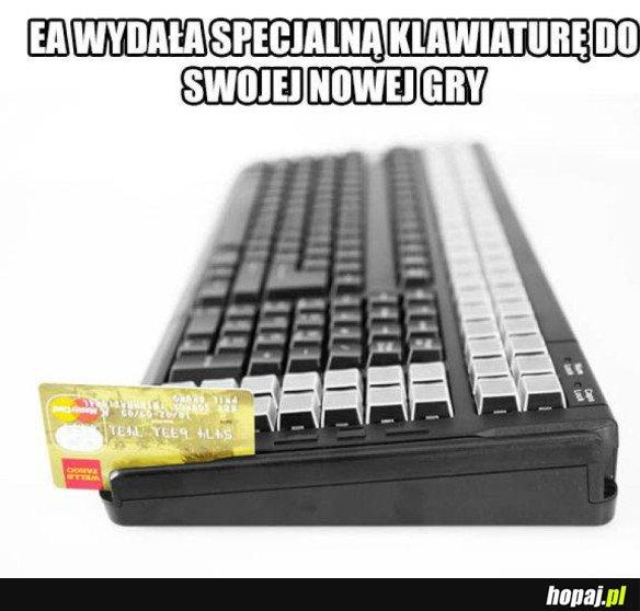 KLAWIATURA OD EA