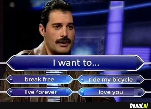 I jaka ostatecznie decyzja Freddie