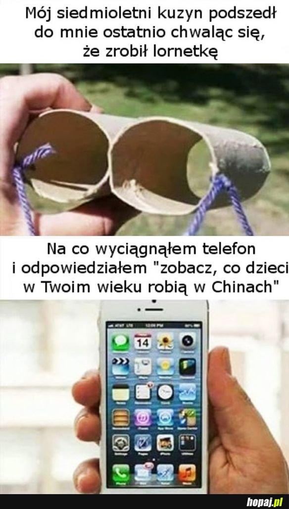 Jak jesteś taki mądry, to tez złóż telefon