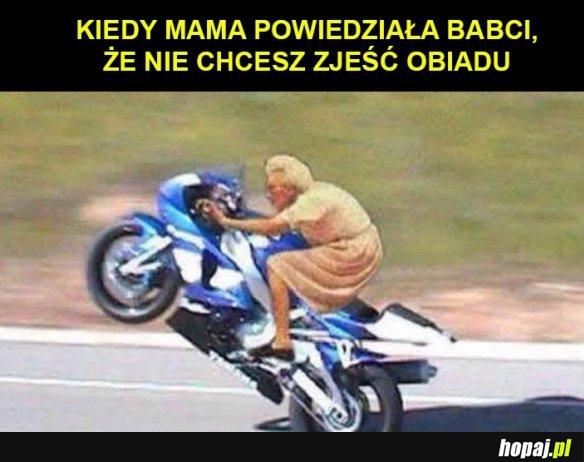 Mama powiedzia�a babci