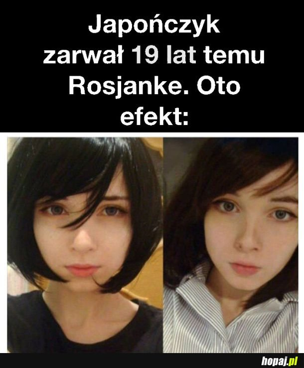 Japończyk zarwał Rosjankę