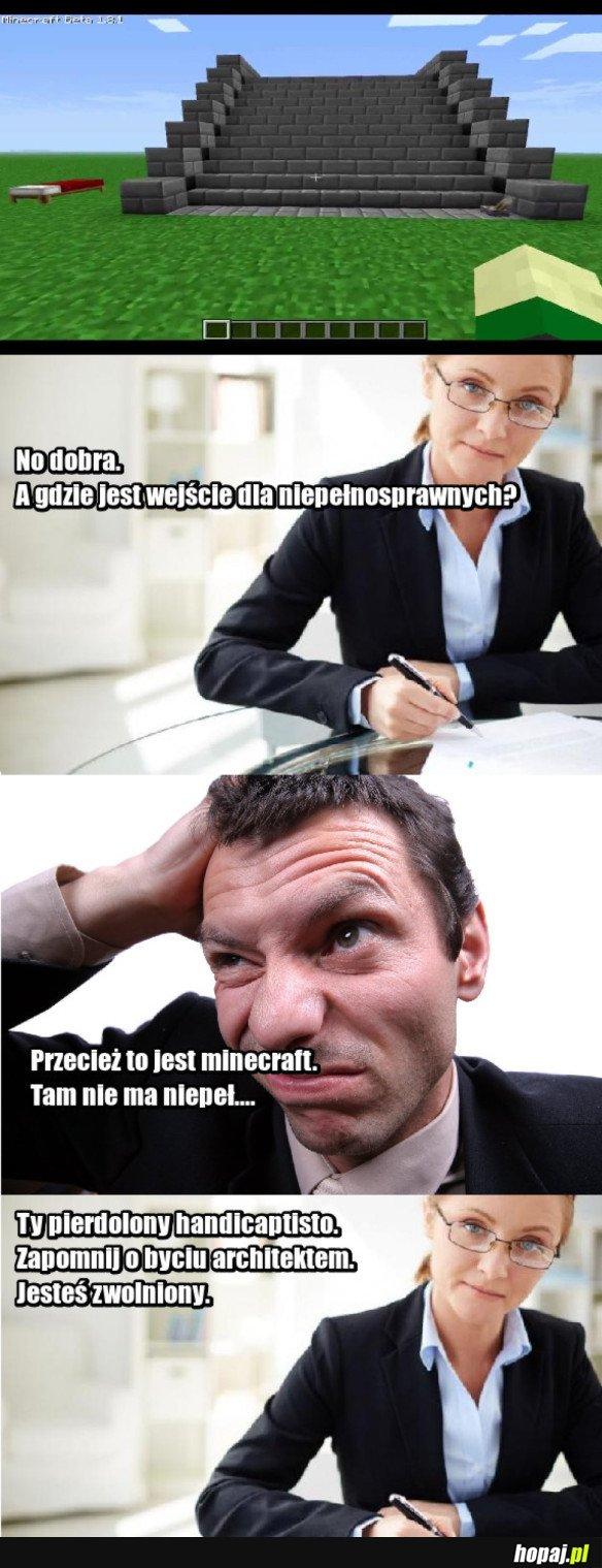 MINECRAFT VS. URZĘDNIK