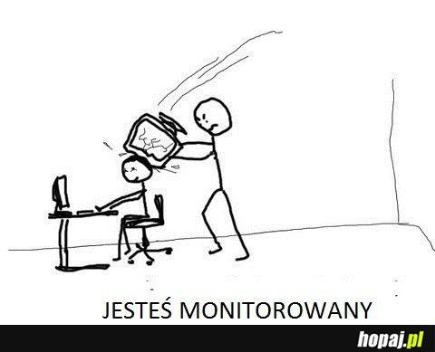Jesteś monitorowany