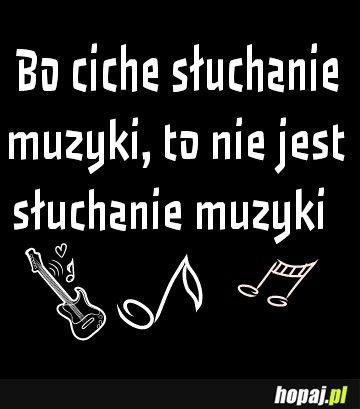 Ciche słuchanie muzyki