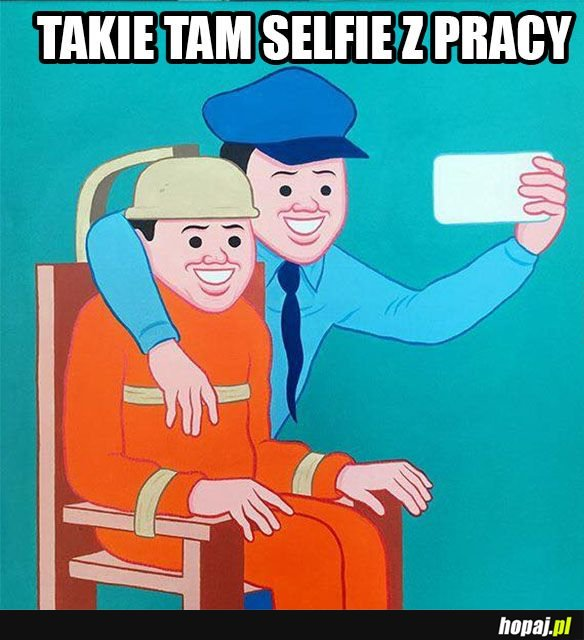 Selfie z roboty