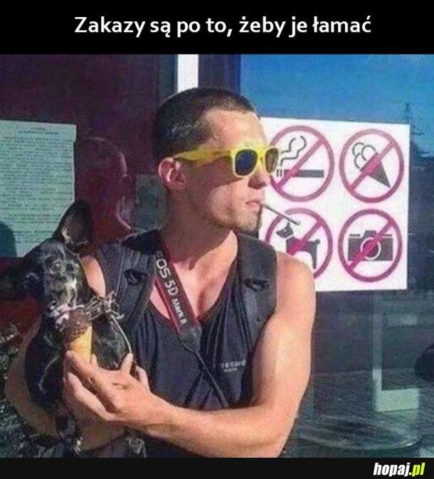 Zakazy