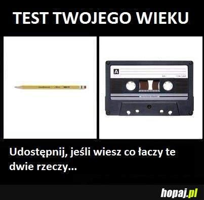 Test Twojego wieku