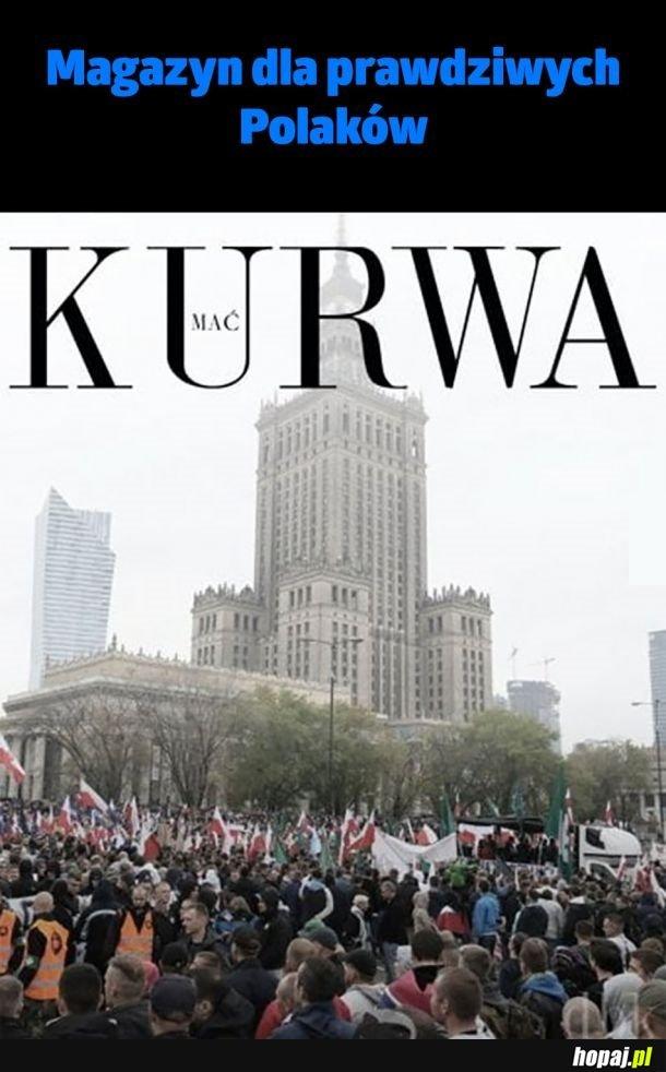 Prawdziwy prawilny magazyn