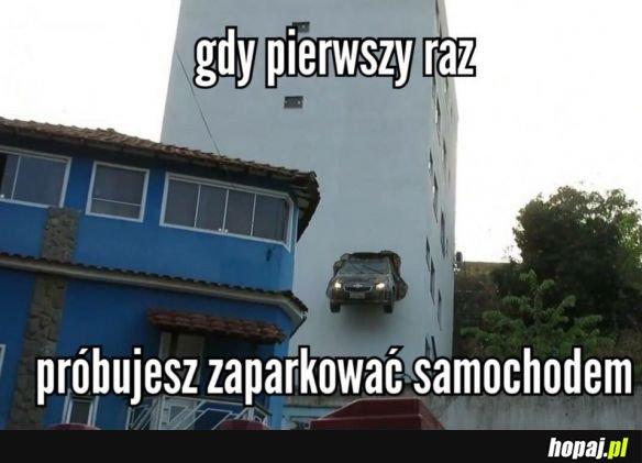 PIERWSZA JAZDA AUTEM