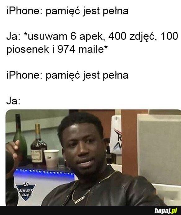 Typowy iPhone
