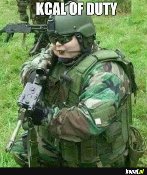 Żołnierz wagi ciężkiej