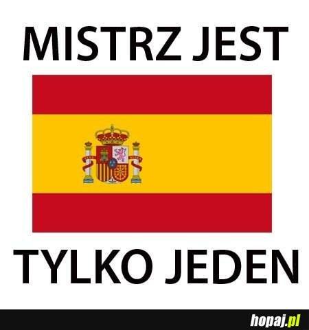Brawo Hiszpania!