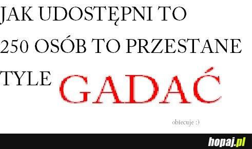 OBIECUJE ;))