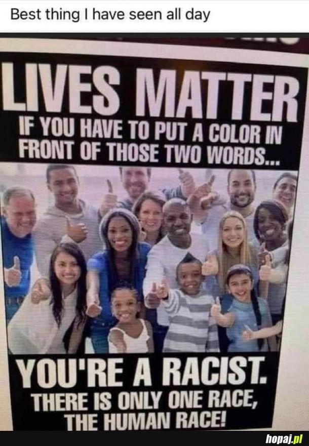 Prawdziwe oblicze rasizmu.