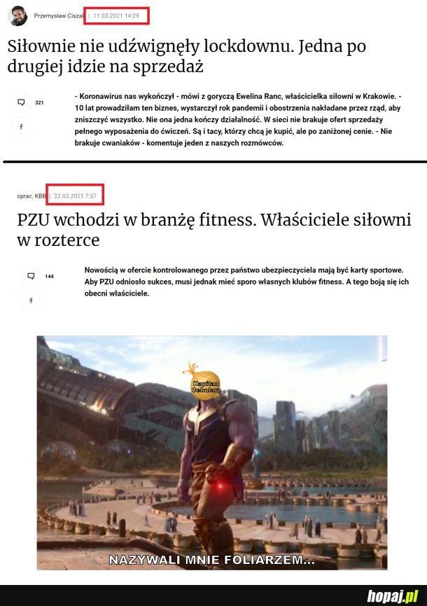 Krótka rozprawa o zamknięciu branży fitness