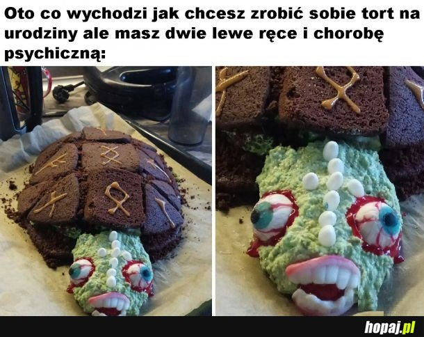 Creepy tort