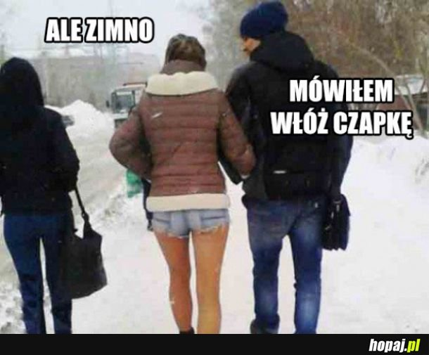 Ale zimno