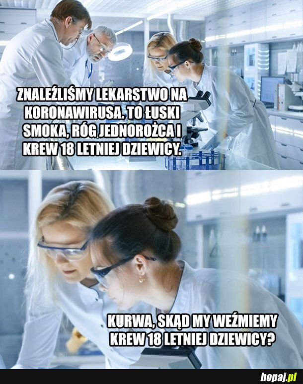 Lekarstwo na koronawirusa