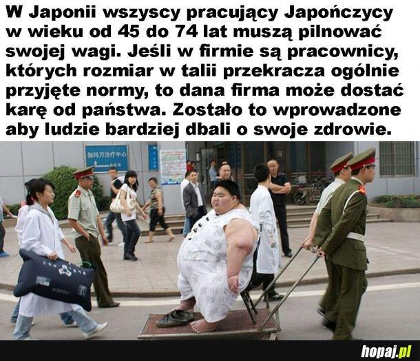 Zdrowy styl życia w Japonii