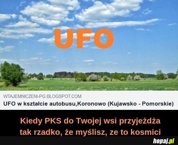 UFO w kształcie autobusu