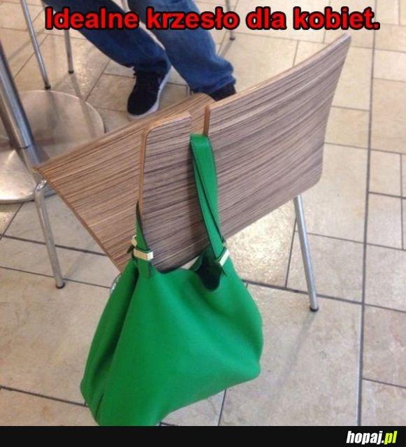 Krzesło dla kobiet