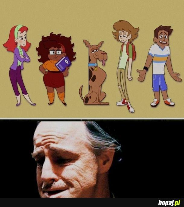 Scooby i Kudłaty wyglądają jakby pod wpływem