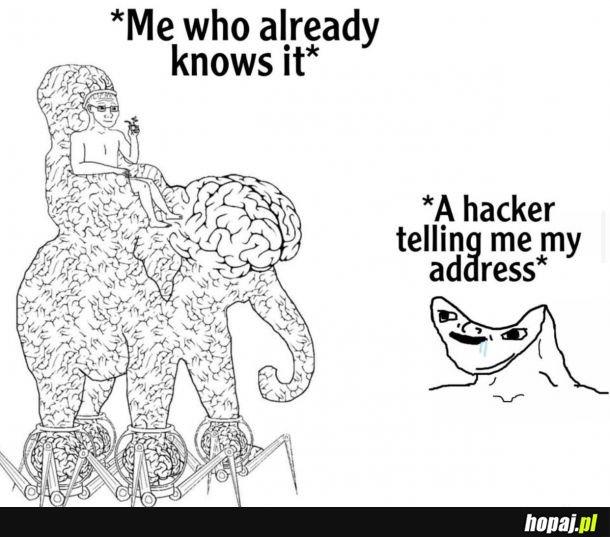 Powiedz mi hackerze coś czego nie wiem