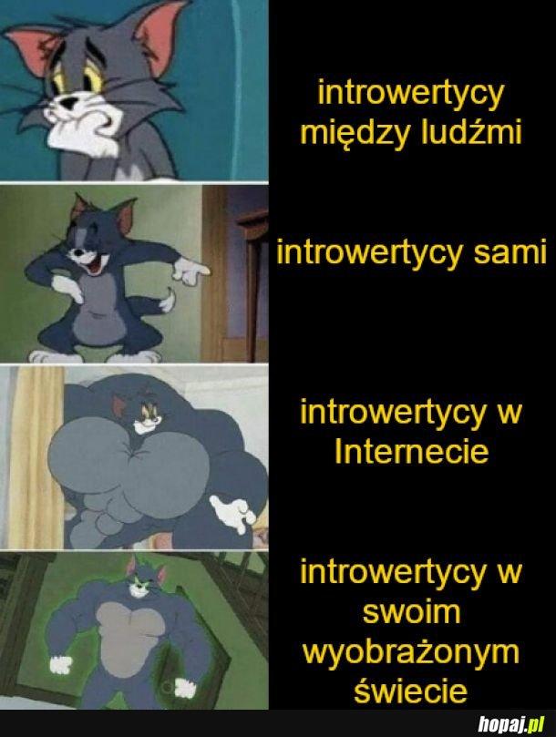 Introwertycy tak mają