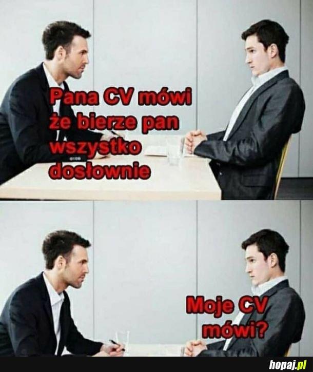 CV nie kłamie