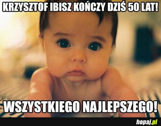 Krzysztof Ibisz kończy 50 lat