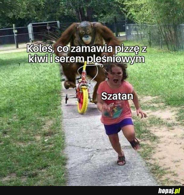 Profanacja pizzy