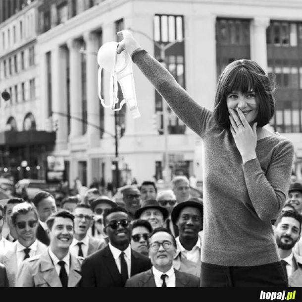 1 Sierpnia 1969. San Francisco. Protest przeciwko noszeniu staników