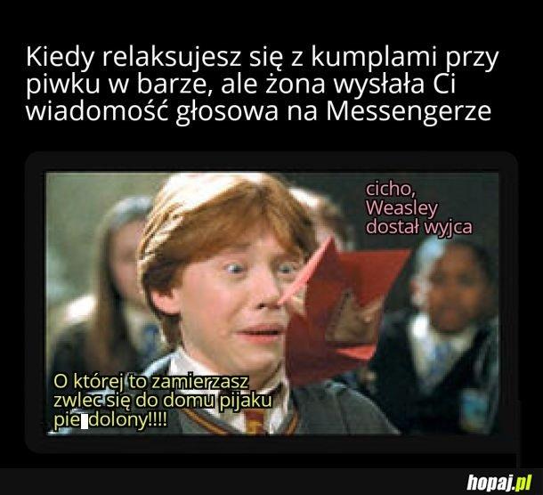 Koleś ma nową ksywę, Weasley