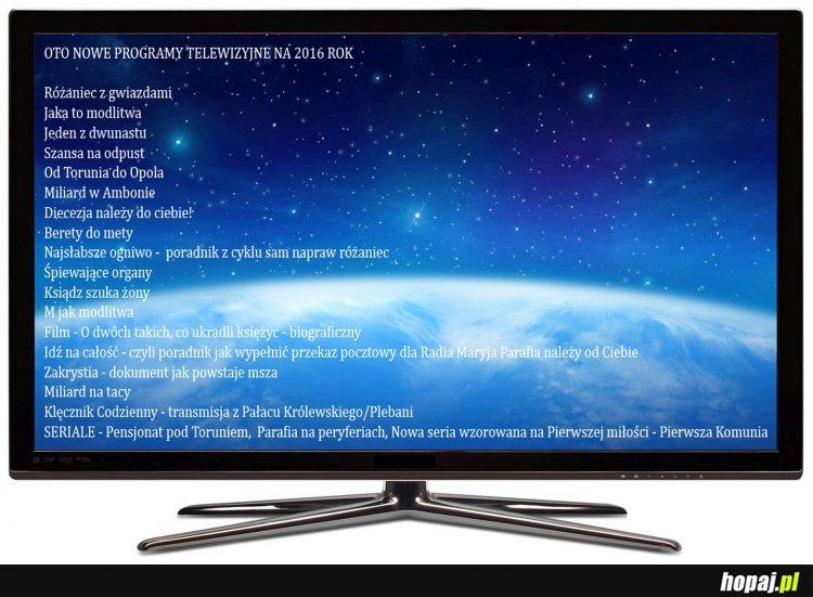 Nowe programy telewizyjne