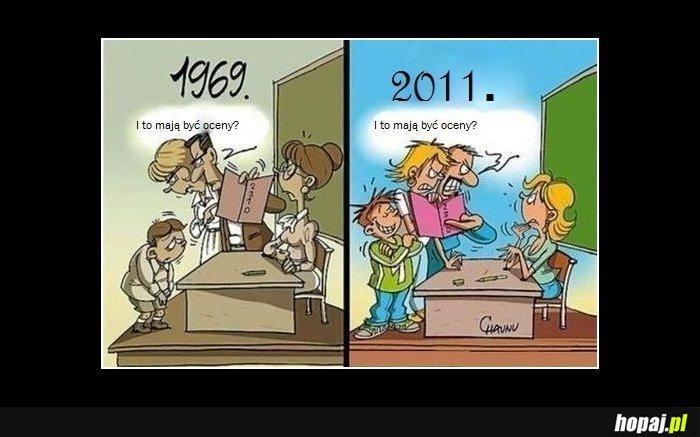 Szkoła dawniej i dziś!