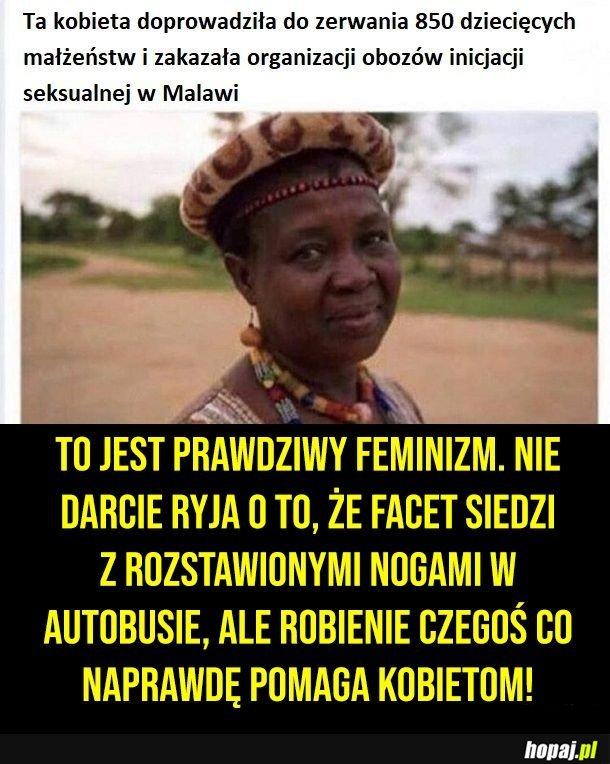 Prawdziwy feminizm