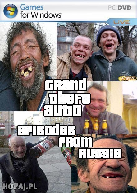 GTA episodes from Russia
